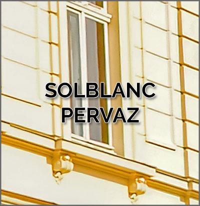 Solblanc (pervaz) decorativ pentru usi si ferestre